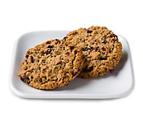 In-store Bakery Cookies Jumbo Cranberry Oatmeal 2 Count - EA