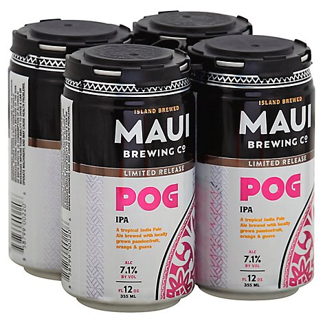 Maui Brewing Seasonal In Cans - 4-12 FZ