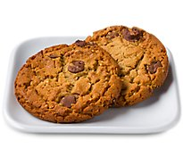 In-store Bakery Cookies Jumbo Peanut Butter Cup 2 Count - EA