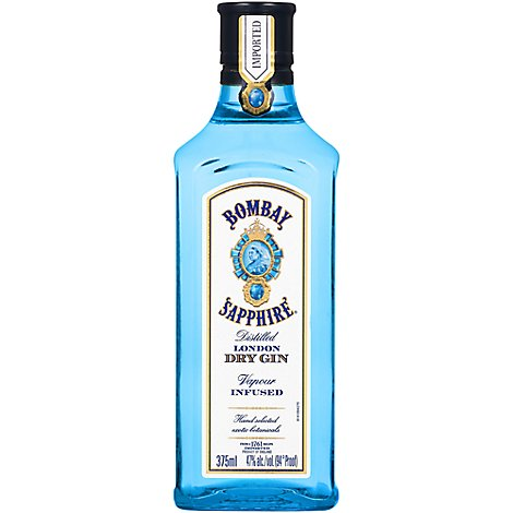 Bombay Sapphire Gin 94 Proof - 375 ML