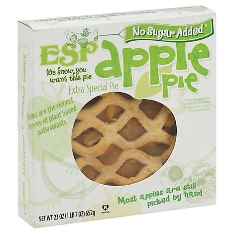 Esp Pie Nsa Apple Baked 8 Inch - EA