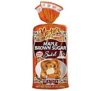 Martins Maple Brown Sugar Swirl Potato Bread - 16 OZ