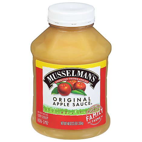 Musselman Apple Sauce - 48 OZ