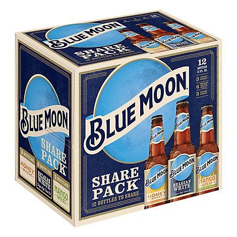 Blue Moon Variety Pack In Bottles - 12-12 FZ