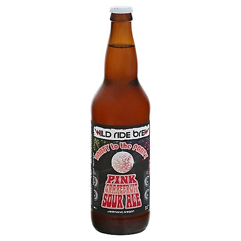 Wild Ride Tarty To The Party Seasonal Sour Ale In Bottles - 22 FZ