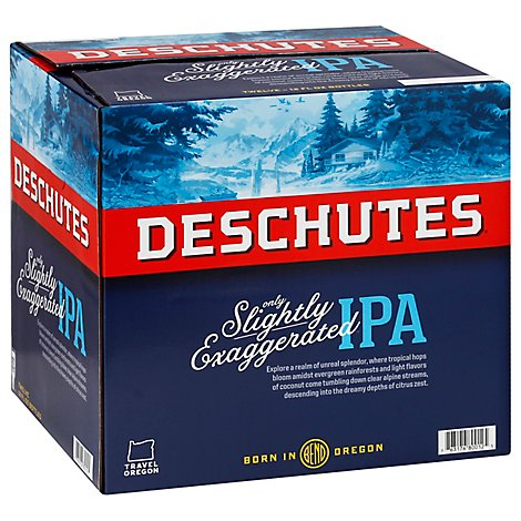 Deschutes Seasonal Brew Beer Bottles - 12-12 FZ