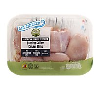 Open Nature Chicken Thigh Boneless Skinless Air Chilled - 1 LB