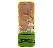 Signature Farms Chicken Breast Boneless Skinless Thin Sliced - LB