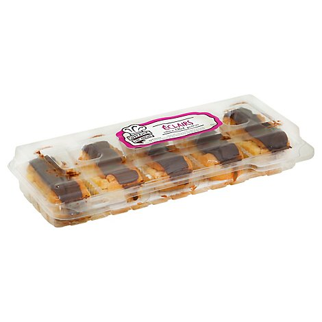 Mini Custard Filled Eclairs - 9.75 OZ