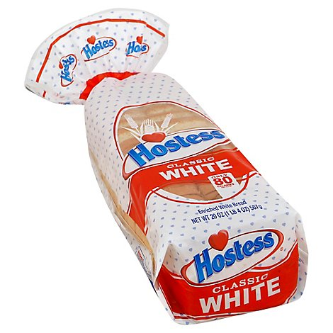 Hostess White Bread Fresh - 20 OZ