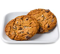 In-store Bakery Cookies Jumbo Chocolate Chunk 2 Count - EA