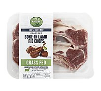 Open Nature Lamb Rib Chop Bone In - LB