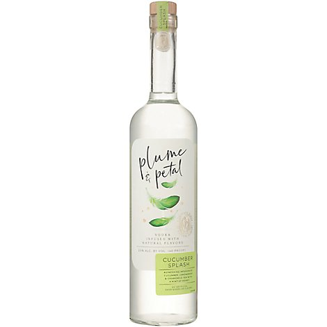 Plume & Petal Vodka Cucumber - 750 ML