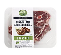 Open Nature Lamb Shoulder Chop Bone In - LB