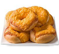 Bagels Asiago Cheese 6 Count - EA