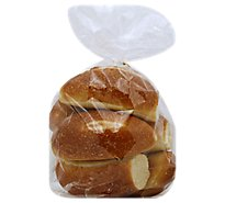White Bolillo Rolls 6 Count - EA