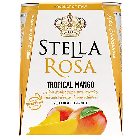 Stella Rosa Tropical Mango 250ml 2pk Wine - 2-250 ML