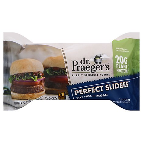 Dr Praegers Perfect Burger Slider - 4.8 OZ