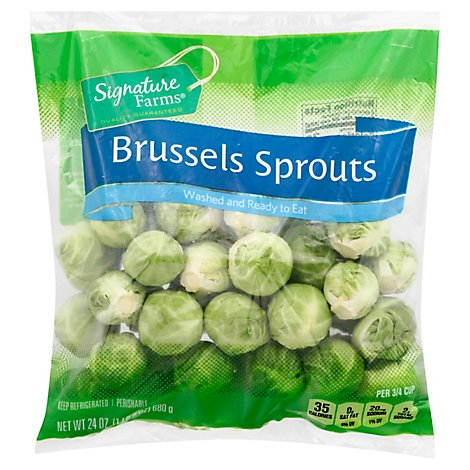 Signature Farms Brussels Sprouts - 24 OZ