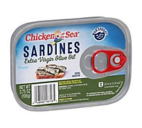 Chicken Of The Sea Sardines In Extra Virgin Olive Oil - 3.75 OZ