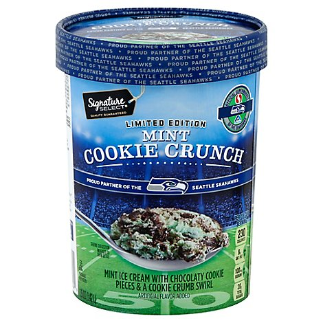Signature Select Ice Crm Mnt Cooky Crnch Spcl Editn - 1.5 QT