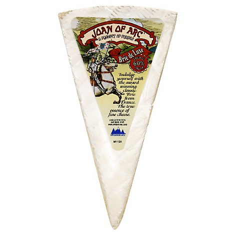 Joan Of Arc Brie Wedge - 8 OZ