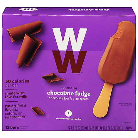 Ww Bar Fudge Snack Size - 12 CT