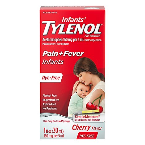 Tylenol Infant Cherry - 1 FZ