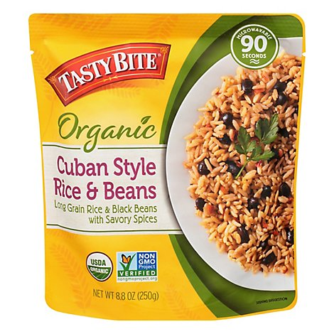 Tasty Bite Rice & Beans Cuban Style - 8.8 OZ