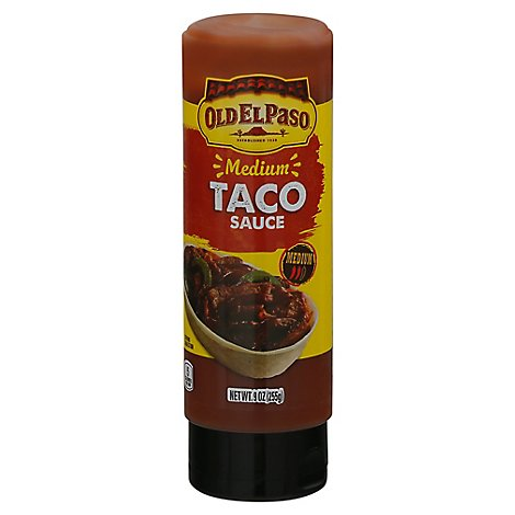 Old El Paso Medium Taco Sauce - 9 OZ