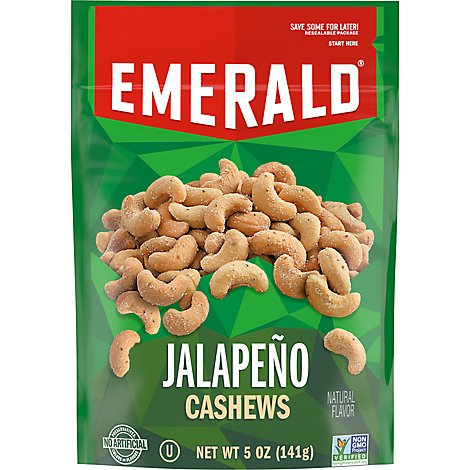 Emerald Jalapeno Cashews - 5 OZ