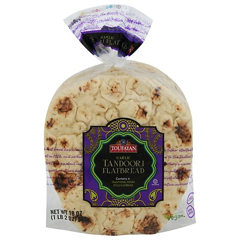 Stonefire Whole Grain Naan Rounds - 12.7 OZ