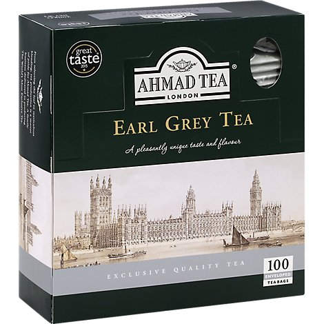 Ahmad Earl Grey Tea Enveloped - 7 OZ