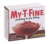 My T Fine Chocolate Pudding & Filling - 3.13 OZ