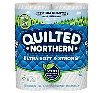 Quilted Northern Ultra Soft & Strong Toilet Paper 6 Mega Roll - 6 RL