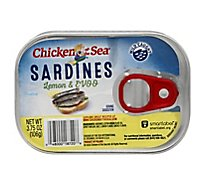 Chicken Of The Sea Sardines In Lemon Oil - 3.75 OZ