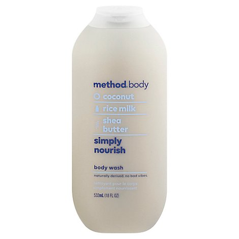 Method Body Wash Coconut - 18 OZ