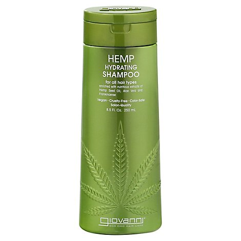 Giovanni Cosmetics Shmp Hemp Hydrating - 8.5 OZ