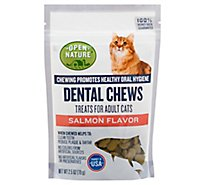Open Nature Cat Treats Dental Chews Salmon - 2.5 OZ