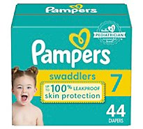 Pampers Swaddlers Diapers Size 7 - 44 CT
