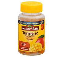 Nature Made Tumeric Gummies - 60 CT