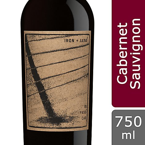 Iron And Sand 18 Cabernet Sauvignon Wine - 750 ML
