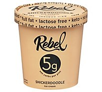 Rebel Ice Cream Snickerdoodle - 1 PT