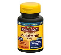 Nature Made Fast Dissolve Melatonin 10mg - 45 CT