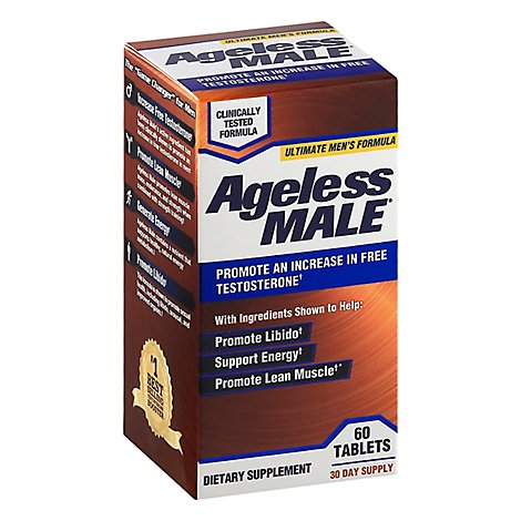 Ageless Male Testofen Tablets - 60 CT