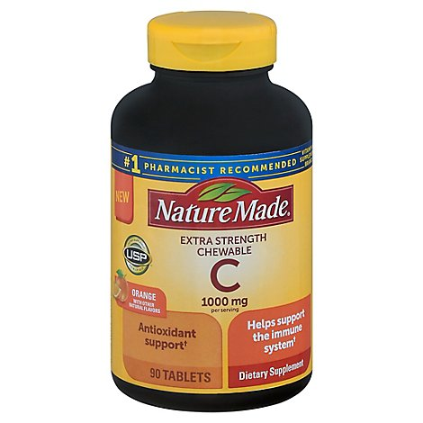 Nature Made Vitamin C Chewable 1000mg - 90 CT