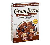 Grain Berry Cereal Multi Bran Flakes - 12 OZ