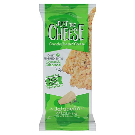 Just The Cheese Snack Bar Chse Jalapeno - 0.8 OZ