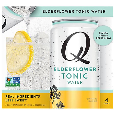 Q Elderflower Tonic - 4-7.5FZ