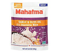 Mahamta Garlic & Olive Oil Ready To Serve Jasmine Rice - 8.8 OZ